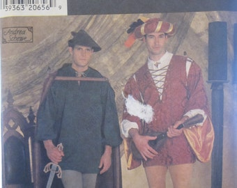 Boss SIMPLICITY 7761 demonstration Costumes for men