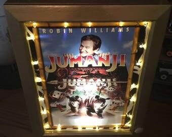 Jumanji Talking Mini Poster Marquee