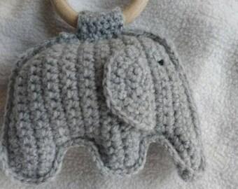 Rammelaar olifant/rattle elephant