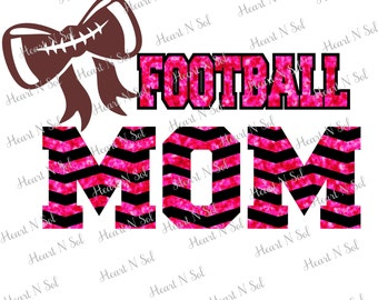 Football, Football Mom, Chevron, Team Spirit, Team colors, Football Bow,  SVG, EPS, DXF, Digital file, Instant Download, Silhouette, Cricut