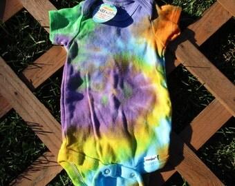 Purple Swirl Onesie (3-6 months)