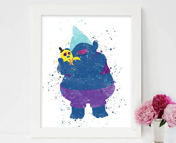 Trolls Biggie Mr Dinkles Wall Art
