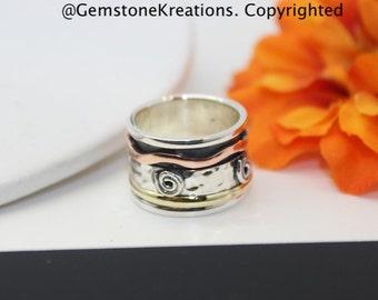 Spinner Rings, Meditation Rings, Yoga Rings, Healing Rings, Calming Rings