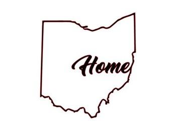 Love Ohio Sticker Etsy