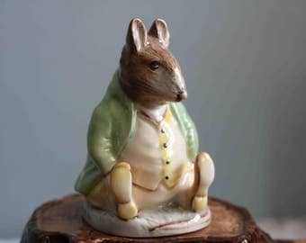 Royal Albert BEATRIX POTTER Samual Whiskers Rat  Roly-Poly Pudding Hill Top Tale  Mint condition