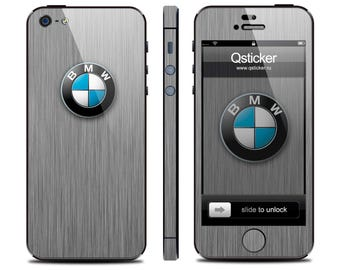 BMW sticker for iPhone 4s, BMW decal iPhone 4s, iPhone 4s BMW skin, iPhone 4 bmw decal, 3M vinyl