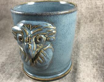 8oz owl mug