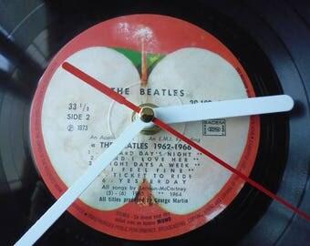 The Beatles clock