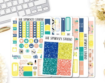 Sunny Days Weekly Planner Kit