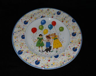 "1986 Heinrich UNICEF 40th Anniversary Plate ""A World for Children"" Collector Plate"