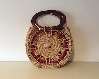 Seventies handbag Flower Power bag hippie tas handtas hippy