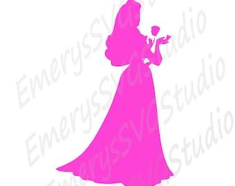 SVG File for Sleeping Beauty Auroa