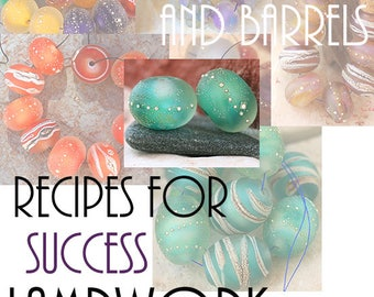 Lampwork eBook Recipes for Success Vol 2 Learn the secrets to my most popular designs