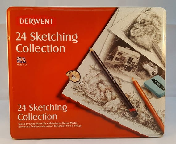 Derwent 24 Sketching Collection Set For Beginners A