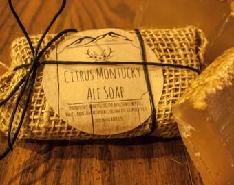 Citrus Montucky Ale Soap