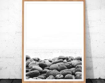 Scandinavian Art, Photography Prints, Stone Print, Minimalist Printable Art, Minimalist Art, Scandinavian Print, Scandinavian Poster, Art