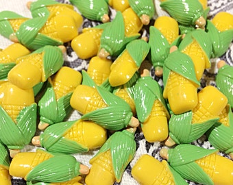 Corn cabochons