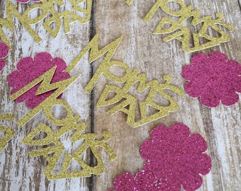 Mothers Day Confetti - Mom' Day