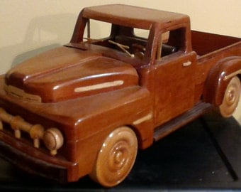 Wood Truck   1951 Ford Pick-up Hand crafted