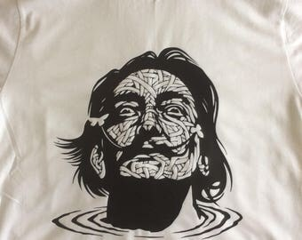 Dali T-shirt, modern art, surrealist.