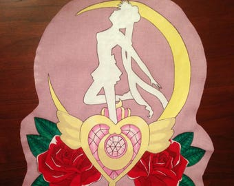 Sailor Moon Hand-painted Back Patch