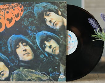 The Beatles - Rubber Soul (Rare Vintage LP, Vinyl records sale, Lennon, McCartney album)