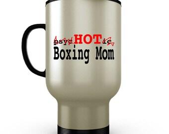 Boxing Gifts, Boxing, Boxing Mom Travel Mug, Boxing Mug, Mom gift, Mothers Day Gift, Mothers Day Travel Mug, Travel Coffee Mug, Tumbler