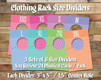 IFR Size Dividers - This is a physical product.