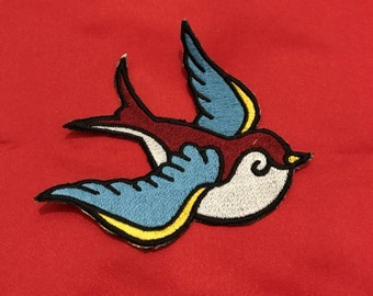 Swallow Old School Patch