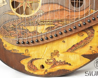 "Liara ""Smaug"" C major Lyre instrument"