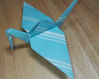 20 Origami Crane Wedding Favors / Baby Boy B1/2