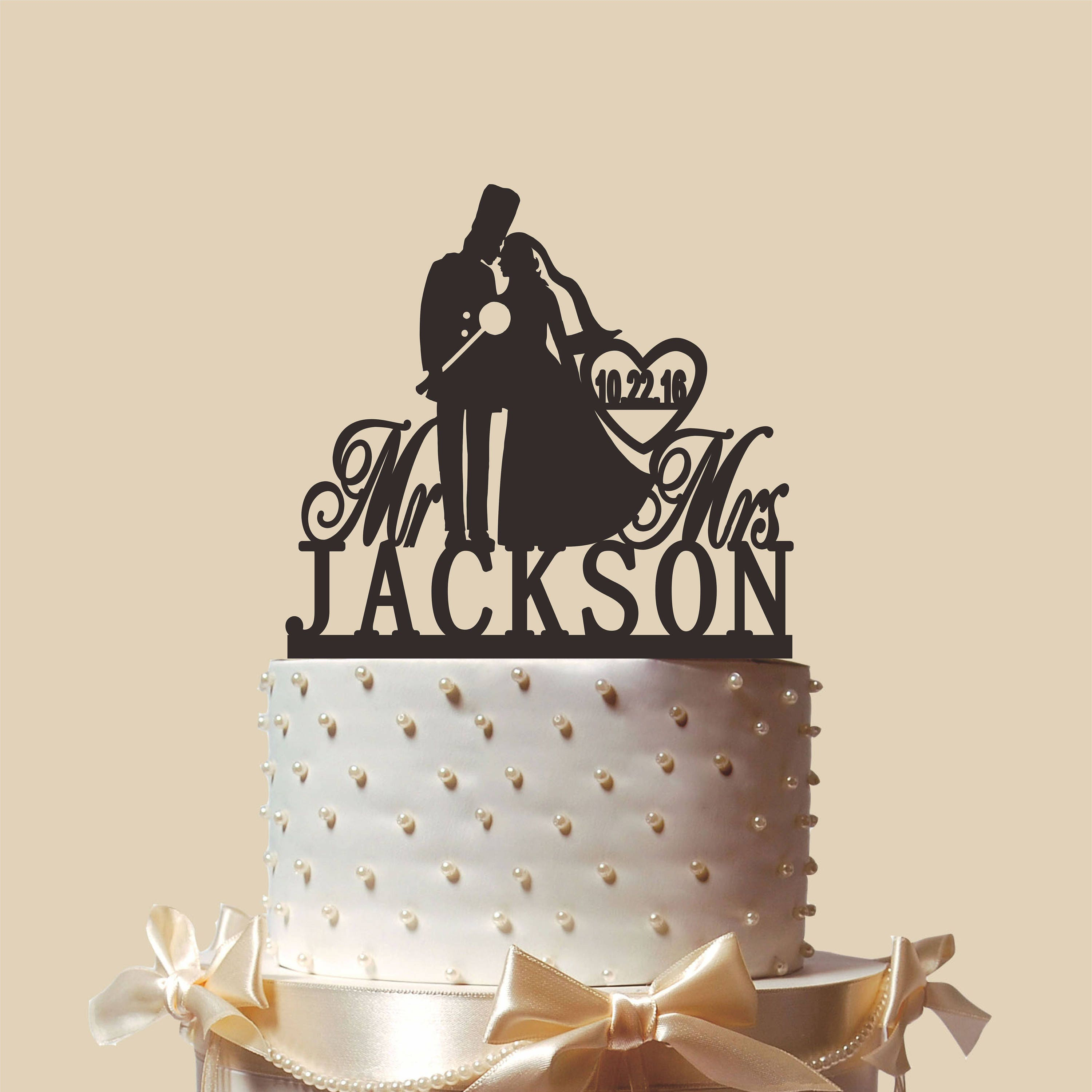 Exelent Marine Corps Wedding Cake Topper Adornment - The Wedding ...