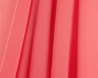 Hi Multi Chiffon Fabric - 10 Yards - Coral (LF1)