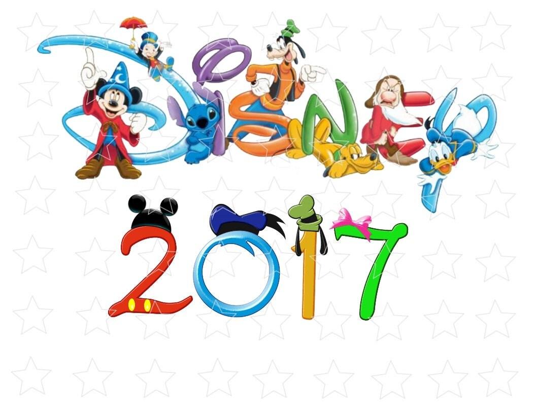 Disney 2017 Mickey Mouse Ears T shirt World Family Vacation