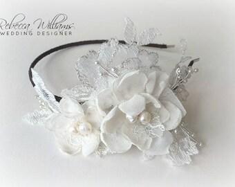 Amaryllis Floral Tiara