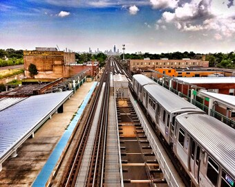 "Laramie St. Green Line ""L"" Station"