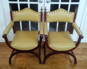 40% Off #1 Most Favorite Item NOW! Mid Century Modern chair with studded back (Price is per chair as in each) (1 available, 2 sold 3/15/17)
