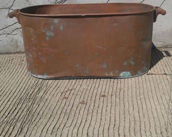 Antique Copper Boiler/Tub