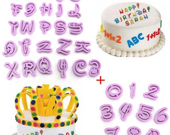 Assortment of 36 away Pieces letters & numbers writing magical