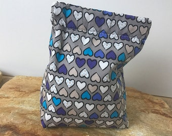 Bag, bag with snap lock, Easter gift