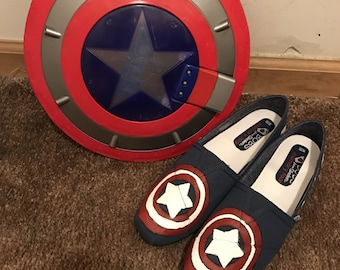 Superhero Shoes (Can do other Superheroes.)