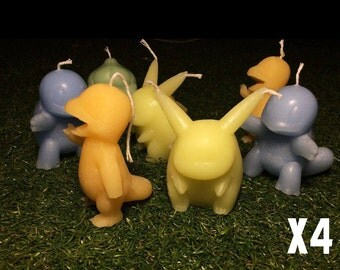Pokemon Candles (Set 4)