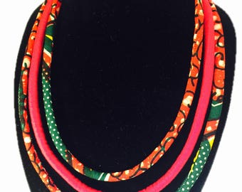 Ankara necklace