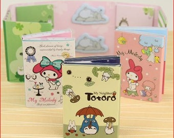 My Melody 6 Fold Note pad/ Post It (A set of 2!)