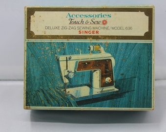 Singer Touch and Sew 636 Accessory Box