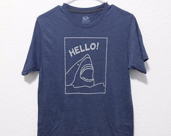 Screenprinted Shark T-Shirt