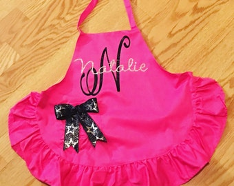 Personalized youth or women's apron