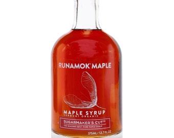 Runamok Maple - Sugarmaker's Cut Organic, Pure Grade A Vermont Maple Syrup