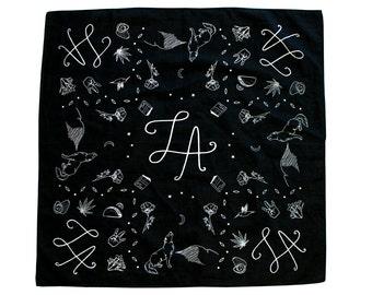 Symbols of LA Bandana