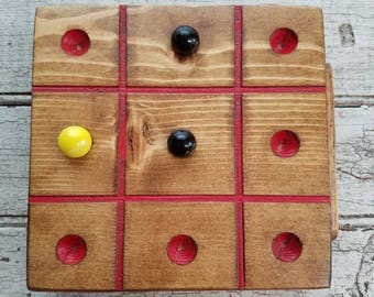 Handmade Tic-Tac-Toe